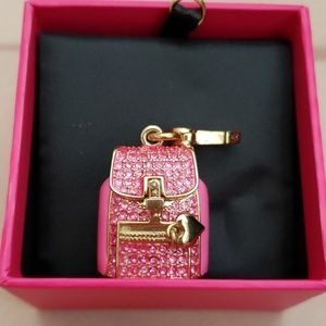 Juicy Couture Backpack Charm